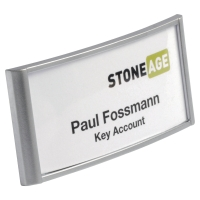 PK10 DURABLE 8541 NAME BADGE ALU 30X65