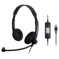 SENNHEISER SC60 WIRED USB PC HEADSET