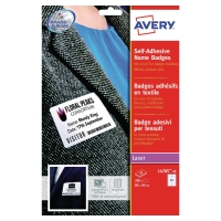BX200 AVERY L4785-20 SELF/ADHESIVE NAME BADGES