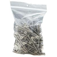 PE ZIP BAG 230X320MM 50µ PACK OF 100
