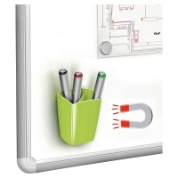 CEP GREEN MAGNETIC PENCIL CUP FOR WHITEBOARDS