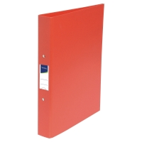 LYRECO RED A4 2 O-RING BINDER 40MM