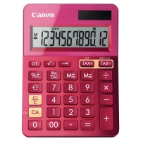 CANON K-SERIES DESK CALCULATOR PINK