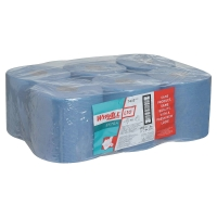 KIMBERLY CLARK WYPALL L10 CENTREFEED ROLL BLUE - PACK OF 6