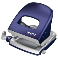 LEITZ STYLE 2-HOLE PUNCH 30 SHEETS - BLUE