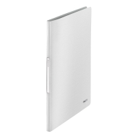 LEITZ STYLE DISPLAY BOOK POLYPROPYLENE A4 20 POCKET WHITE