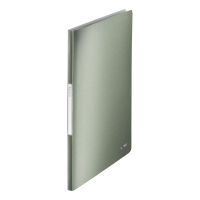 LEITZ STYLE DISPLAY BOOK POLYPROPYLENE A4 20 POCKET GREEN
