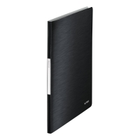 LEITZ STYLE DISPLAY BOOK POLYPROPYLENE A4 20 POCKET BLACK