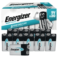 PK20 ENERGIZER ALKALINE ADVANCED BATTERY 9V