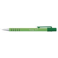 LYRECO RECYCLED 0.7MM RUBBERED MECHANICAL PENCIL RETRACTABLE