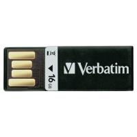 VERBATIM CLIP-IT USB 2.0 16GB BLACK