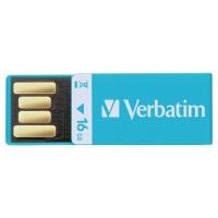 VERBATIM CLIP-IT USB 2.0 16GB BLU