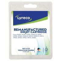 LYRECO I/JET COMP CANON PGI-5/CLI-8 BCMY