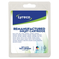 LYRECO I/JET COMP EPSON T071 PACK BCMY