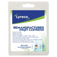 LYRECO I/JET COMP HP HP364 PACK CMY