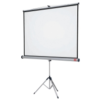 NOBO 1902395W TRIPOD PROJ SCREEN 150X100CM 16:10