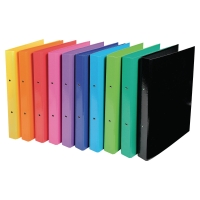 IDERAMA 2-RING BINDER 30MM ASSORTED PACK 10