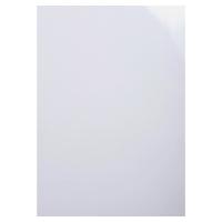 BX100 EXACOMPTA GLOSSY COVER WHITE