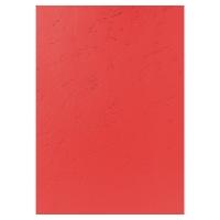 BX100 EXACOMPTA LTHGRAIN COVERS RED