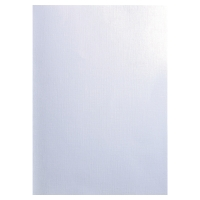 PK100 EXACOMPTA BINDING COVER TEXTILE WHITE