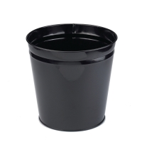 CEP BLACK METAL WASTE BIN - 15 LITRE CAPACITY