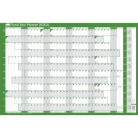 SASCO MOUNTED FISCAL PLANNER - 915 X 610MM