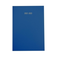 LYRECO BLUE A5 ACADEMIC DIARY - WEEK TO VIEW