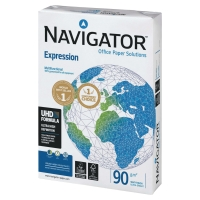 NAVIGATOR INKJET PAPER A4 90GSM WHITE - REAM OF 500 SHEETS