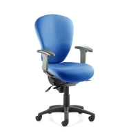 SPHERE 24/7 HIGH BACK OPERATORS CHAIR - BLUE