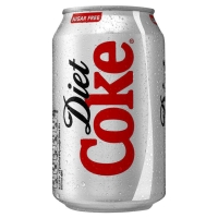 DIET COCA COLA CAN 330ML - PACK OF 24