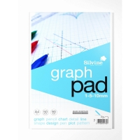 CAMBRIDGE EVERYDAY LEGAL PAD A4 GRAPH PAD - PACK OF 5