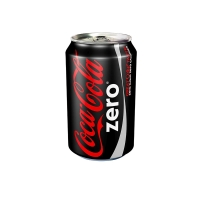 COCA COLA ZERO CAN 330ML - PACK OF 24