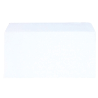 LYRECO ENVELOPES DL 90 GRAM 100 PERCENT RECYCLED WHITE - BOX OF 1000