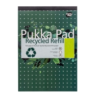 PUKKA RECYCLED REFILL PAD A4 HEADBOUND PACK OF 6