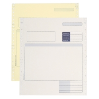 SAGE COMPATIBLE CONTINUOUS INVOICE 2 PART - BOX OF 1000