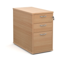 TRIOS DESK HIGH PEDESTAL 800MM BEECH