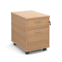 TRIOS MOBILE PEDESTAL 2 DRAWER BEECH