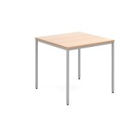 STACKABLE MULTIPURPOSE TABLE 800MM BEECH