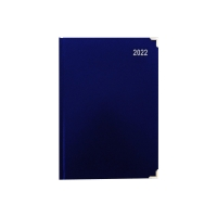 LYRECO PREMIUM A5 DIARY BLUE - WEEK TO VIEW