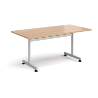 TILT TOP TABLE RECTANGULAR 1600MM BEECH