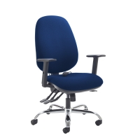 ERGO HIGH BACK MANAGERS CHAIR BLUE