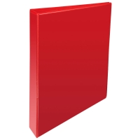 RED A4 2 D-RING PRESENTATION BINDER 25MM
