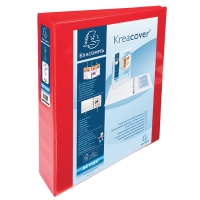 RED A4 4 D-RING PRESENTATION BINDER 40MM