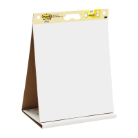 POST-IT SUPER STICKY TABLE TOP EASEL PAD AND DRY ERASE BOARD