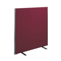 FREE STANDING ACOUSTIC OFFICE SCREEN 1600 X 1400MM RED