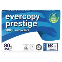 CLAIREFONTAINE EVERCOPY PRESTIGE PAPER A4 80GSM WHITE - BOX OF 5 REAMS