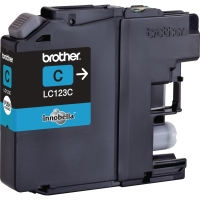 BROTHER LC123C INKJET CARTRIDGE CYAN