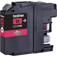 BROTHER LC123M INKJET CARTRIDGE MAGENTA