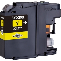 BROTHER LC123Y INKJET CARTRIDGE YELLOW