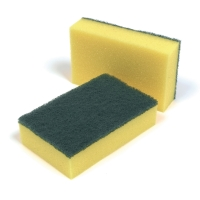 SPONGE SCOURERS - PACK OF 10